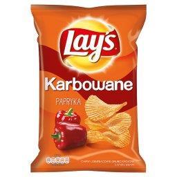 Karbowane o smaku Papryka Chipsy ziemniaczane