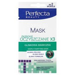 Beauty Experss Mask Głębokie oczyszczanie x3 Glinkowa maseczka