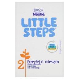 LITTLE STEPS 2 Mleko następne w proszku dla niemowląt powyżej 6. miesiąca 600 g