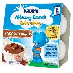 Mleczny Deserek o smaku czekoladowym po 8 miesiącu 400 g (4 sztuki)