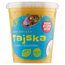 Zupy świata tajska z curry i kolendrą