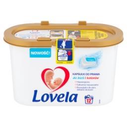 Hipoalergiczne kapsułki do prania do bieli i kolorów 260,4 g