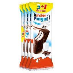 Pingui Choco Biszkopt z mlecznym nadzieniem pokryty czekoladą 4 x