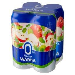 Radler Piwo bezalkoholowe z lemoniadą o smaku jabłka...