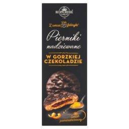 Z serca fabryki Pierniki nadziewane w gorzkiej czekoladzie smak pomarańczowy
