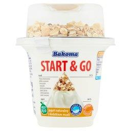 Start & Go Jogurt naturalny z dodatkiem musli