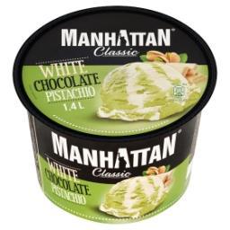 Classic Lody z białą czekoladą i lody pistacjowe