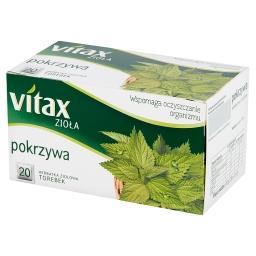 Zioła Pokrzywa Herbata ziołowa 30 g (20 torebek)