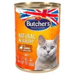 Natural&Healthy Karma dla dorosłych kotów kawałki w galaretce z dziczyzną