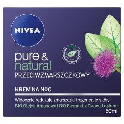 Pure & Natural Przeciwzmarszczkowy krem na noc