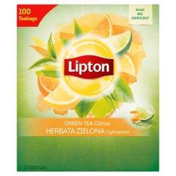 Herbata zielona cytrusowa  (100 torebek)