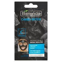 Carbo Detox Oczyszczająca maska węglowa cera sucha i wrażliwa