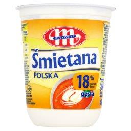 Śmietana Polska gęsta 18%