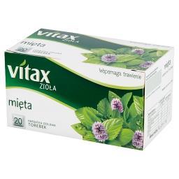 Zioła Mięta Herbata ziołowa  (20 torebek)