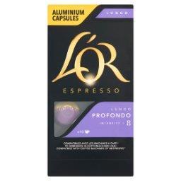 Espresso Lungo Profondo Kawa mielona w kapsułkach  (10 sztuk)