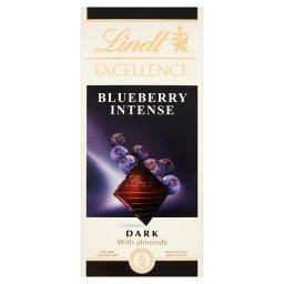 Excellence Czekolada ciemna z migdałami i kawałkami borówki amerykańskiej