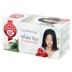 World Special Teas Herbata biała o smaku żurawinowo-...