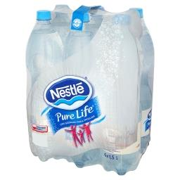 Pure Life Lekko gazowana woda źródlana 6 x 1,5 l