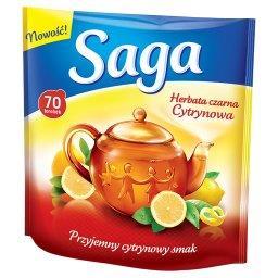 Herbata czarna cytrynowa  (70 torebek)