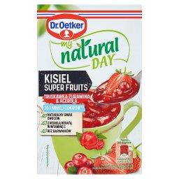 My Natural Day Kisiel Super Fruits truskawka-żurawin...