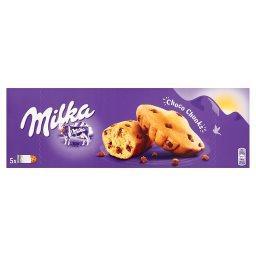 Choco Chunks Ciastka biszkoptowe z kawałkami czekolady mlecznej 140 g (5 sztuk)