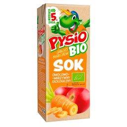 Bio Sok owocowo-warzywny ekologiczny jabłko marchew od 5. miesiąca życia