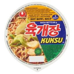 Kuksu Hot Pikantna zupa orientalna z makaronem