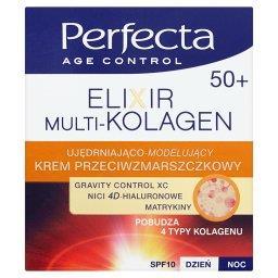 Age Control Elixir Multi-Kolagen 50+ Krem przeciwzmarszczkowy na dzień i noc