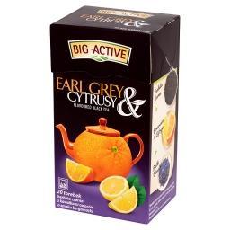 Earl Grey & Cytrusy Herbata czarna z cytrusami 40 g (20 torebek)