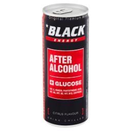 Energy After Alcohol Gazowany napój energetyzując o smaku cytrusowym