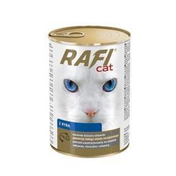 Rafi Kot kawałki z rybą w sosie 415g