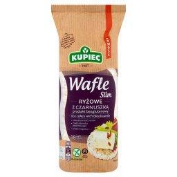 Slim Wafle ryżowe z czarnuszką  (18 sztuk)