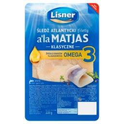 Śledź atlantycki filety a'la Matjas klasyczne
