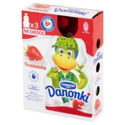 Danonki Jogurt truskawka 210 g