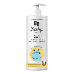 Baby Soft 2w1 Łagodny Płyn do mycia i kąpieli 500 ml