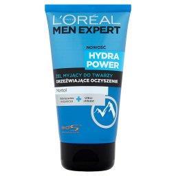 Men Expert Hydra Power Żel myjący do twarzy Orzeźwia...
