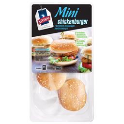 Mini chickenburger z kotletem drobiowym panierowanym 285g