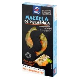 Makrela do piekarnika w marynacie ziołowej z warzywami