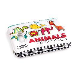 Miękka książeczka z piszczałką - kolorowe zwierzęta
