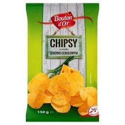 Chipsy o smaku serowo-cebulowym