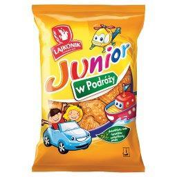 Junior W Podróży Drobne pieczywo o smaku waniliowym