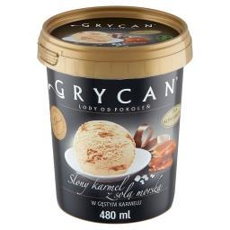 Lody słony karmel z solą morską
