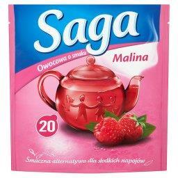 Herbatka owocowa o smaku malina  (20 torebek)