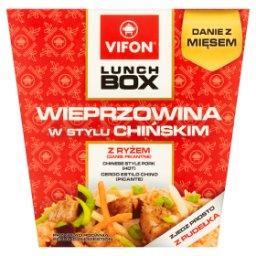 Lunch Box Danie błyskawiczne wieprzowina w stylu chińskim