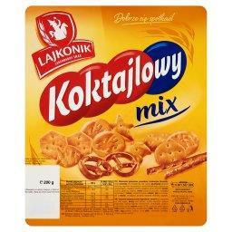 Koktajlowy mix Mieszanka paluszków precelków i krakersów