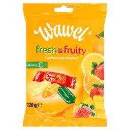Fresh & Fruity Karmelki nadziewane z witaminą C