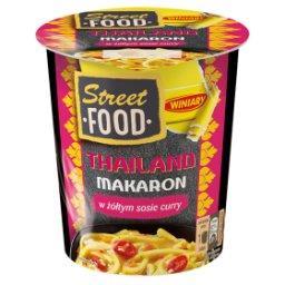 Street Food Thailand Makaron w żółtym sosie curry