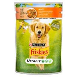 Vitafit Adult Karma dla psów z kurczakiem i marchewką w sosie