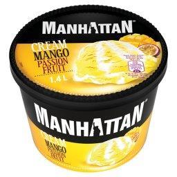Lody ze śmietanką i sorbet mango-marakuja
