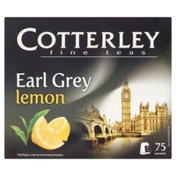 Earl Grey Lemon Herbata czarna aromatyzowana 75 tore...